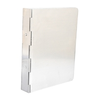 Stainless Steel Ring Binder, A4, 2 Ring
