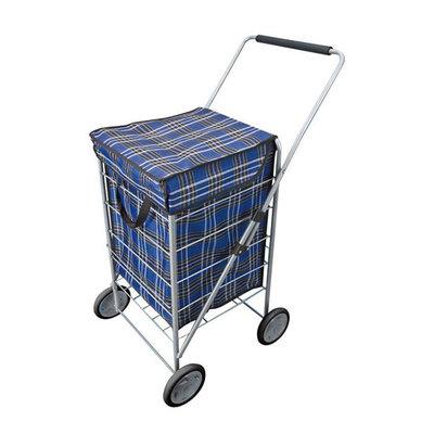 Explorer 4 Wheel Shopping Trolley 65L