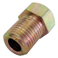 Male Brake Nut, 10mm x 1mm Short