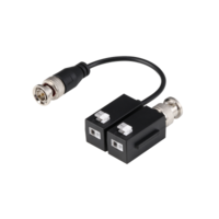 Set of 4K Passive Video Baluns, 1 Balun with pig tail