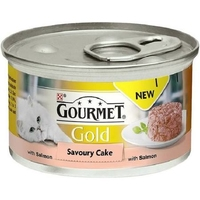 Gourmet Gold Cat Can Savoury Salmon Cake 85g x 12