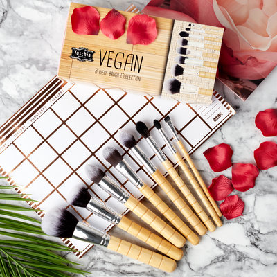 Vegan 8 Piece Brush Collection