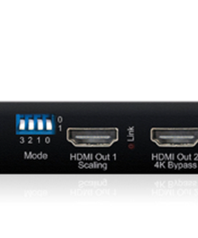4K Resolution Scalers
