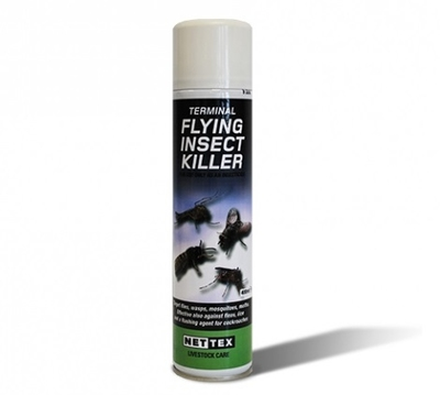 Net-Tex Terminal Flying Insect Killer Spray 400ml x 1