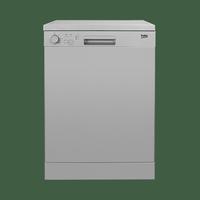 Beko DFN04210S Free Standing Dishwasher 60cm - Silver