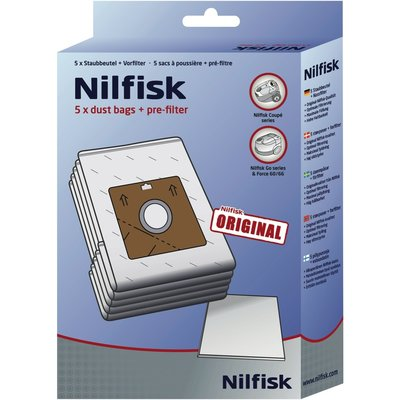 NILFISK DUSTBAG COUPE/GO