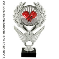 24cm Silver Winged Trophy to suit Blaze Discs