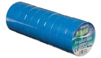 Vires Elec PVC Tape Blue 19mm x 20M