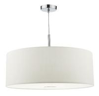 Ronda 60cm 3 Light Pendant, White | LV1802.0088