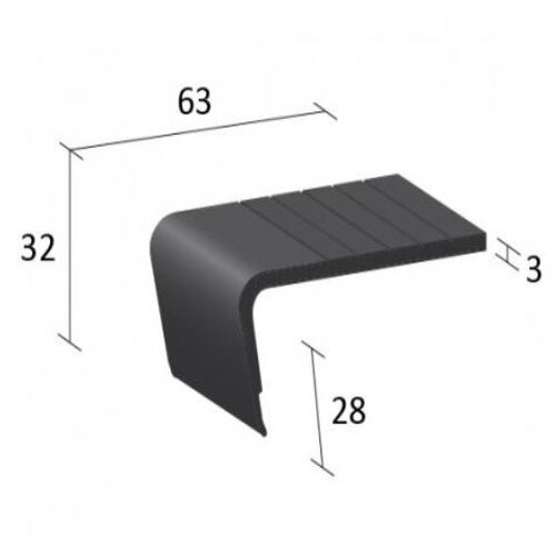 EQESN5 Flexible Stair Nosing