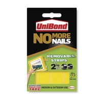 No More Nails Strips - Removable  (Unibond)