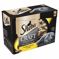 Sheba Craft Pouches - Poultry Selection 85g 12-Pack x 4