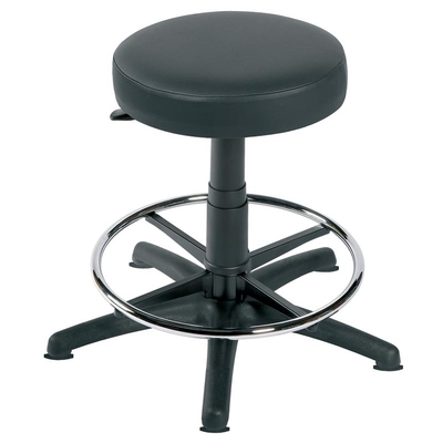 Stool with Ring - Static Black