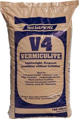 Vermiculite V4 Coarse 100 Litre Per Bag Micafill Goodwins