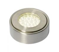 1.5W LED Circular Cabinet Light 3000K Satin Nickel