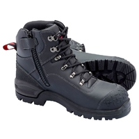 John Bull Crow 2.0 Cushion Core Lace Up/Zip Safety Boot With Toe Guard