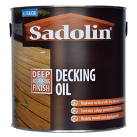 Sadolin Decking Oil Clear 2.5ltr
