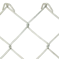 1.8m Galvanised Chain Link 3mm 25m
