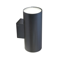ANSELL 51W Doppio HP 4000K Wall Light Graphite