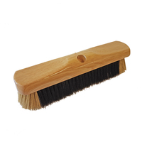 Pure Bristle Broom Head 12'' Black/White - BR255 (WT547)