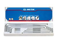 KING TONY Hex Key Set Imperial  20208SR01