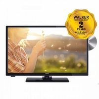 "Walker 24"" HD Ready LED Smart TV with DVD - Saorview Approved"