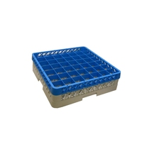 Glass Rack 49 Compartment with 1 Blue Extender