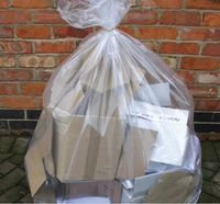 Clear Refuse Sacks (Heavy)