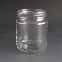228ml Round Jar. 8oz  (Tray of 66)