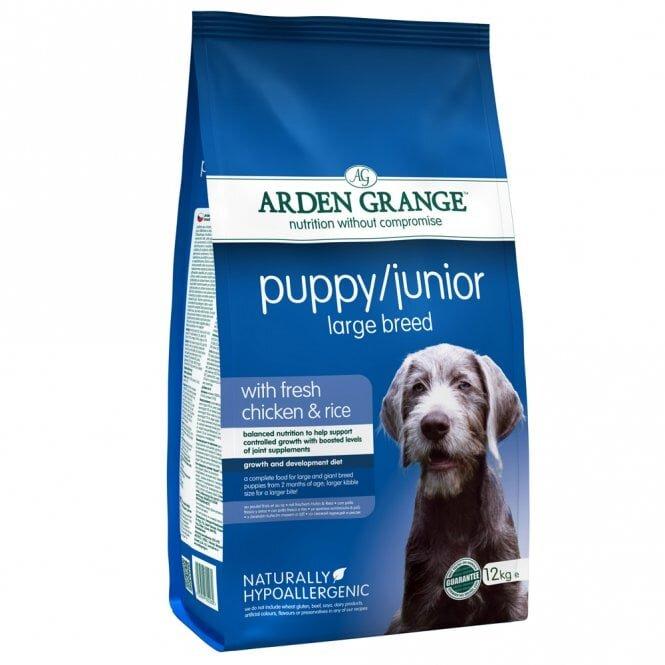 Arden Grange Chicken Puppy/Junior Large Breed Dog Food 12kg