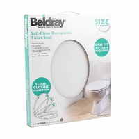 Beldray Easy Fit Soft Close Toilet Seat White