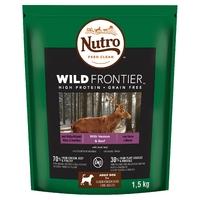 Nutro Wild Frontier Medium Dog Venison & Beef 1.5kg