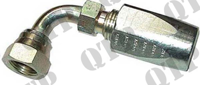 "Coupling 1/2"" BSP 90° Female / Male"