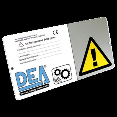 DEA Warning Sign
