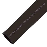 Heat Shrink | Black 50mm Diameter 25M Reel