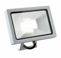 MICRO ACTIVATE 20W LED flood light  with PIR, IP65, White, 4000K