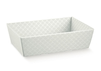 TRAY GREY EMBOSSED 230X170X80mm