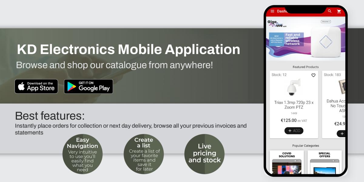 KD mobile app