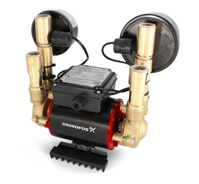 Grundfos Shower Pump Stn-3.0 B 3.0 Bar Negative Twin 98284261