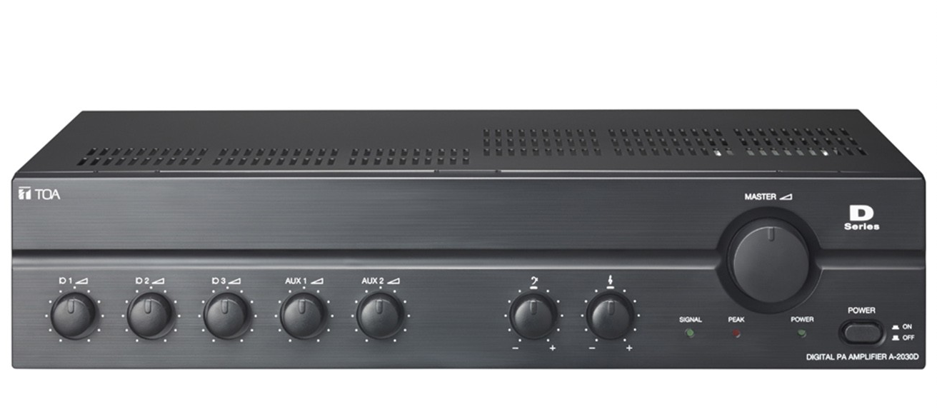 TOA A-2060DD | 60 Watt Digital Mixer Amplifier