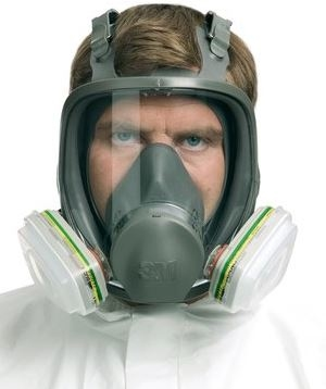 3M 6800 FULL FACE MASK M