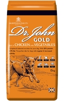 Dr John Gold Dog Food 15kg [Zero VAT]
