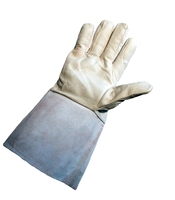 TIG Welding Glove 5inch Cuff - Mordant Leather