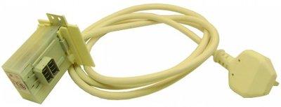 Mains Cable (1950Mm)  Suppressor (Square)