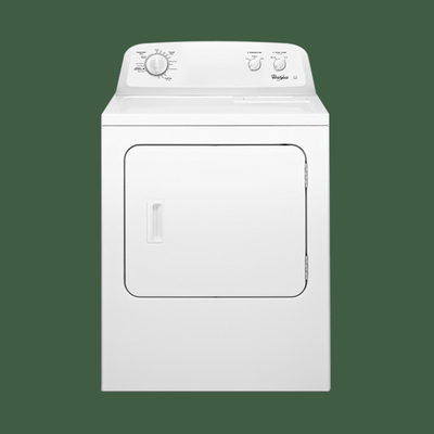 Whirlpool Atlantis 3LWED4705FW 15Kg American Style Commercial Vented Dryer