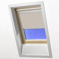 RoofLite Blackout Blind Beige C2A 55 x 78cm