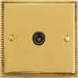 VICTORIAN BRASS HERITAGE TELE OUTLET