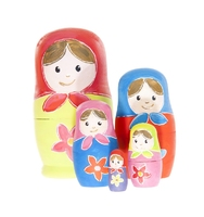 Russian Dolls Paint Your Own. (Priced in singles, order in multiples of 2)