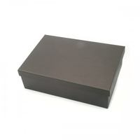 BOX GIFT & LID 455X320X110MM  BLACK
