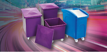 Increased stockholding of food handling and storage containers for next day delivery.